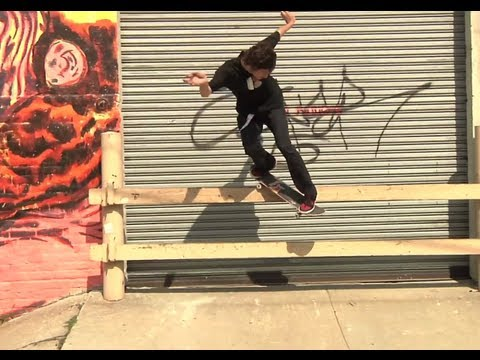 Street Skating In The Big Apple - Skaters In NY 2012 USA