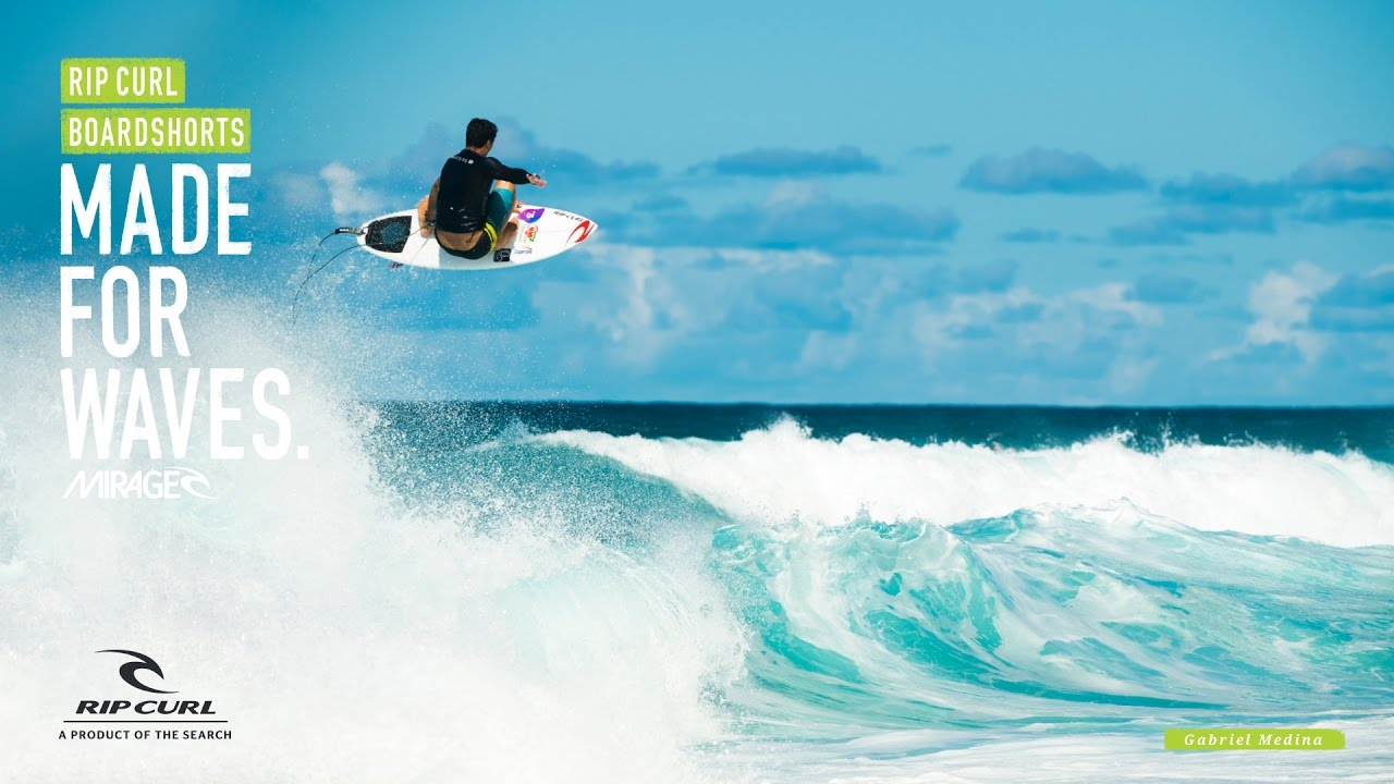 3c847b5482 Gabriel Medina | Made for Waves | Boardshorts by Rip Curl - YouTube