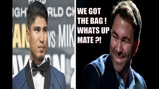 BREAKING NEWS: (WOW) MIKEY GARCIA TO SIGN LUCRATIVE DEAL WITH EDDIE HEARN, MATCHROOM & DAZN ?!