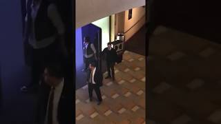 Jared and Jensen dancing at Paley Fest 2018