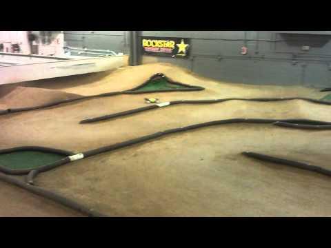 Practice Laps At Unser Racing Indoor Off Road R/C