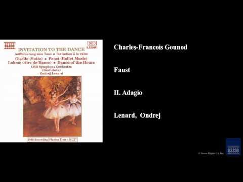 Charles-Francois Gounod, Faust, II. Adagio