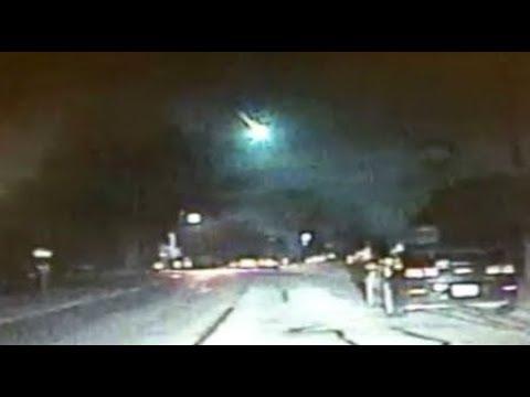 RAW Meteor Michigan causing a 2.0 Earthquake Breaking News January 17 2018