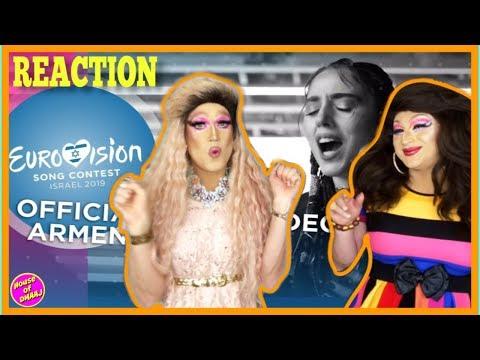 🇦🇲 Armenia | Eurovision 2019 Reaction Video | Srbuk