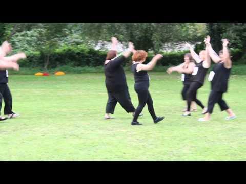 Guernsey Majorettes' Mums. 2012