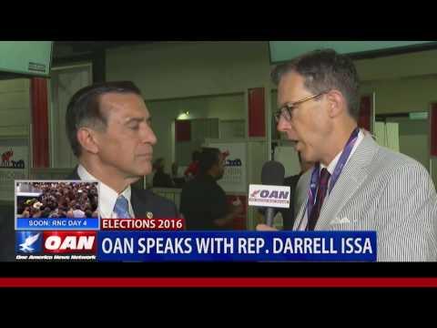 Rep. Darrel Issa on Pence at RNC