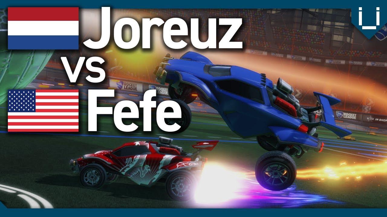 Joreuz vs Fefe | EU vs NA 1v1 Showdown