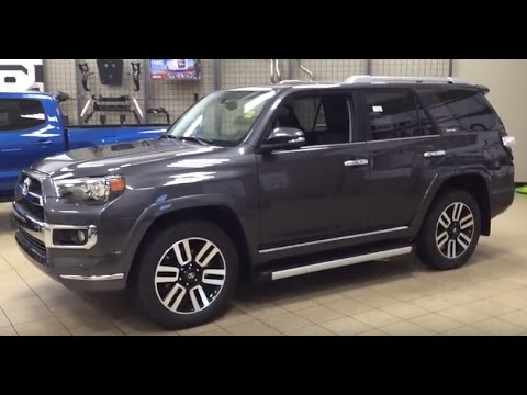 2017 Toyota 4runner Limited Review Youtube