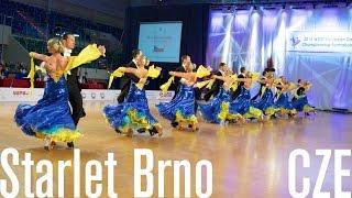 TK TŠ Starlet Brno, CZE | 2015 European STD Formation | DanceSport Total
