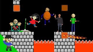 Baldi would be OP in Super Mario Bros. PART 2 thumbnail