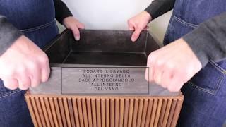 Salvatori - Guida rapida al montaggio di Adda Lavabo Freestanding Square