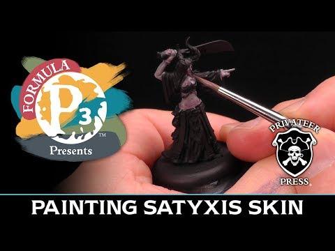 Formula P3 Presents: Painting Satyxis Skin