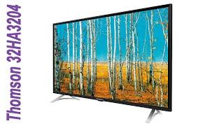 Обзор телевизора Thomson 32HA3204 самый дешевый в Эльдорадо