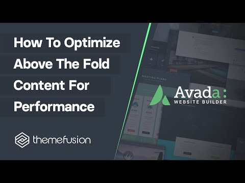 How To Optimize Above The Fold Content For Performance Video