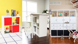 40 Top Ikea Hacks for Kallax Shelf