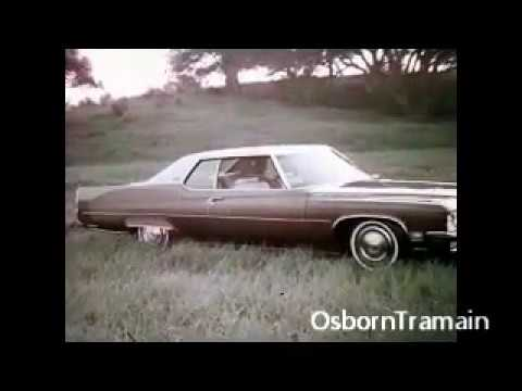 1972 Buick Commercial full line Buick Bargin Days  Paul Burke Voiceover