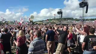 Barry Gibb - Tragedy at Glastonbury 2017
