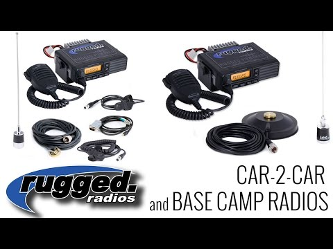 Rugged Radios: Car-to-Car and Base Camp Radio Communications
