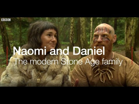 Heath West - Couple Builds Stone Age Village, Live Like Cavemen