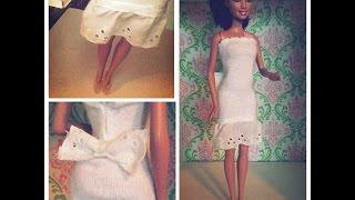 No Sew Project, Barbie Doll Dress