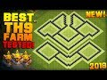 BEST TH9 FARMING BASE 2018 w/ PROOF!   CoC Town Hall 9 Hybrid Base   Clash of Clans