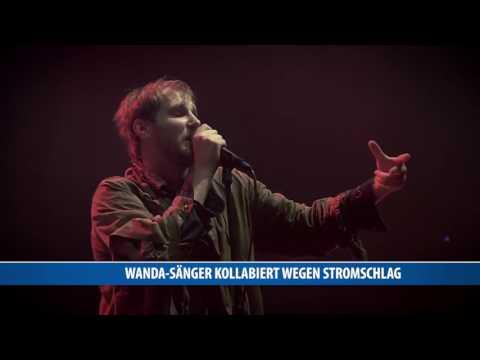 Wanda-Sänger kollabiert wegen Stromschlag