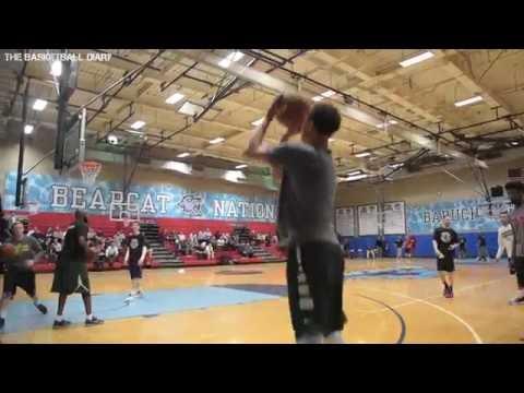 Bryn Forbes Michigan State University NBA Pre Draft Workout (San Antonio Spurs)