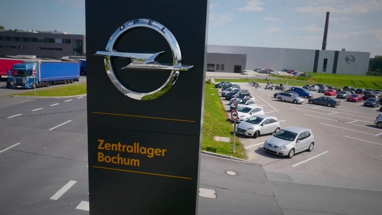 Opel eröffnet neues Warenverteilzentrum in Bochum