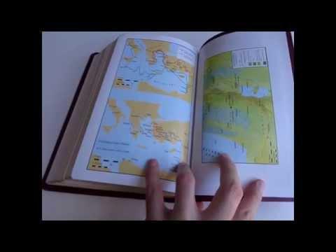 Tuvaluan Language Study Bible 64P / Tusitapu Tauloto Tuvalu / Golden Edges, Burgundy Leather Bound