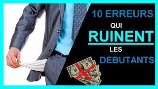 10 Erreurs à Eviter Avant d'Investir Son Argent