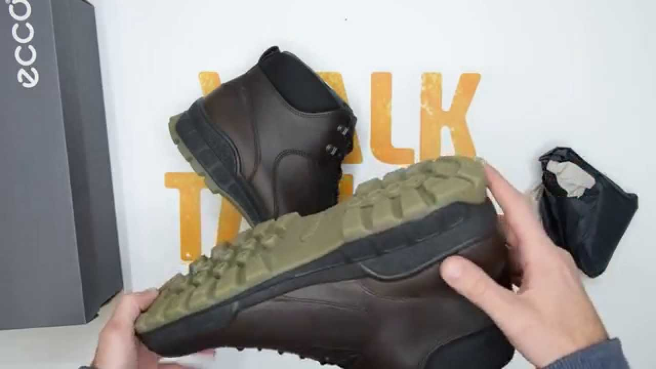 fashion presenting outlet Ecco Track II Boot - Coffee - Walktall | Unboxing | Hands on