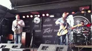 """Cora Lee"" Johnny Sketch & The Dirty Notes @ The Crawfish Fest Augusta,NJ 6-2-2012"