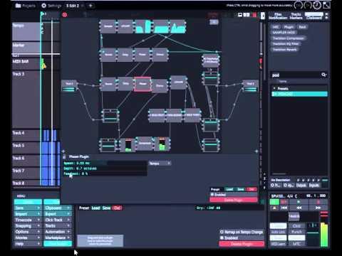The best sampler for Tracktion SS SAMPLER MOD RACK