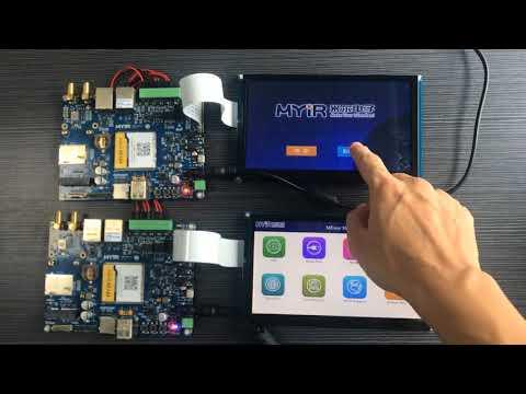 MEasy HMI QT Demo on i MX6UL/6ULL MYD-Y6ULX Development