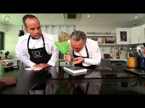 Barre snacking chocolat avec Philippe Bertrand MOF et Chef Philippe