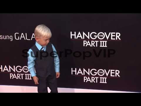 Grant Holmquist at The Hangover Part III Los Angeles Prem...