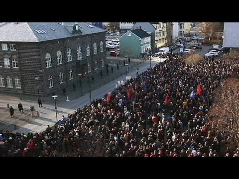 Tempers flare in Iceland over withdrawn EU membership bid