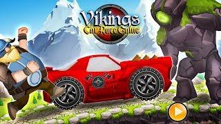 Viking Legends Funny Car Race Game - Tiny Lab Games - Bıcır Gameplay