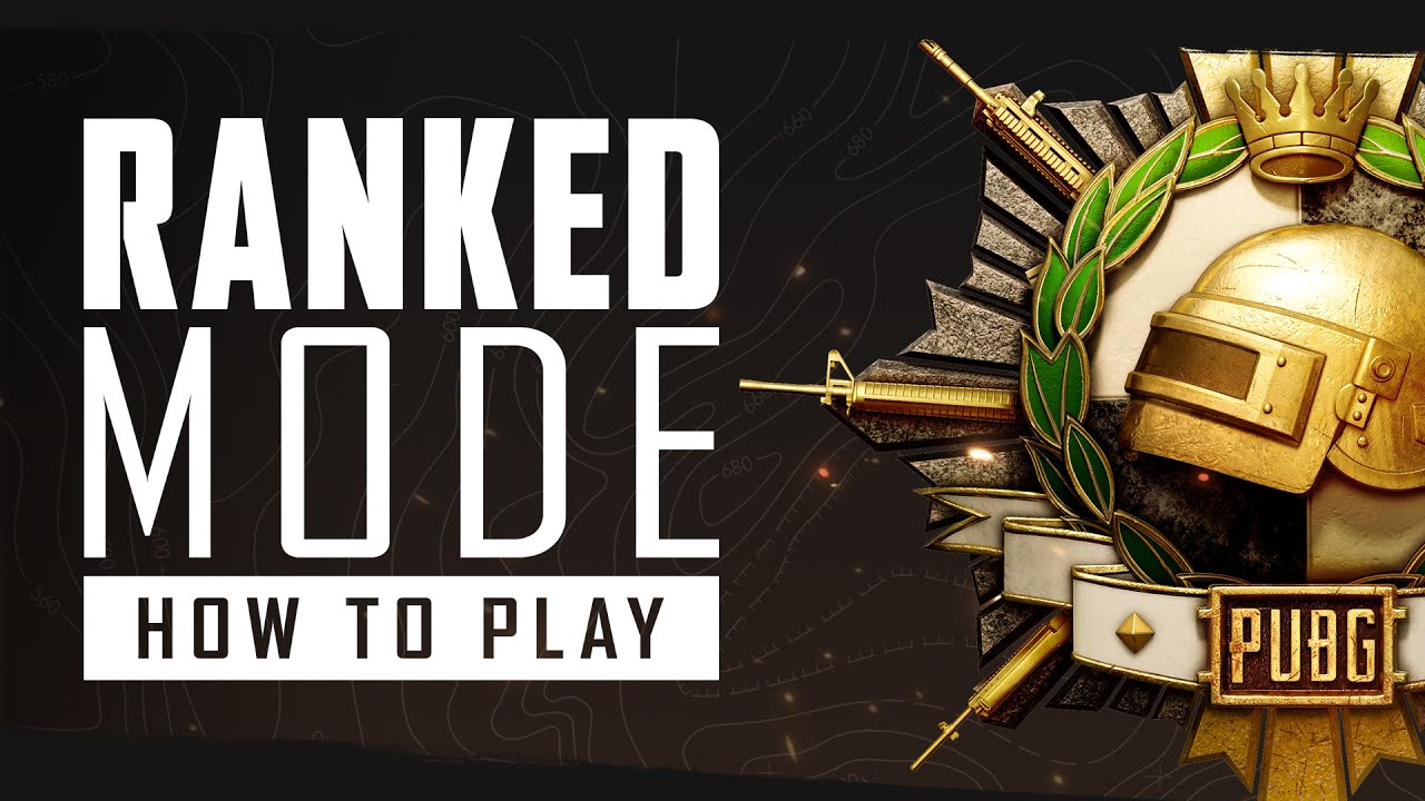 Ranked Mode : How to Play | PUBG