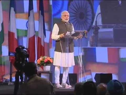 Prime Minister Narendra Modi Speech to Indian diaspora in Paris | Full Speech 2015 Video
