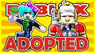 I Adopted SallyGreenGamer! | Roblox | Adopt Me - All Sorts of Fun-ness with Sally Green Gamer