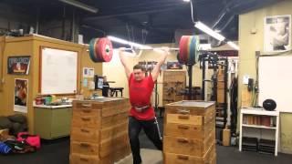 Ian Wilson 215kg/473lb Jerk at 104kg