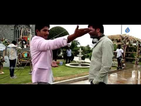 Son Of Satyamurthy Songs Making Videos- Allu Arjun, Trivikram Srinivas, Samantha