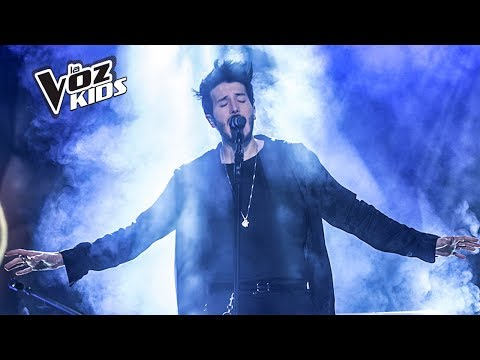 Sebastián Yatra canta ¿Cómo Mirarte? – Súper Batallas | La Voz Kids Colombia 2018