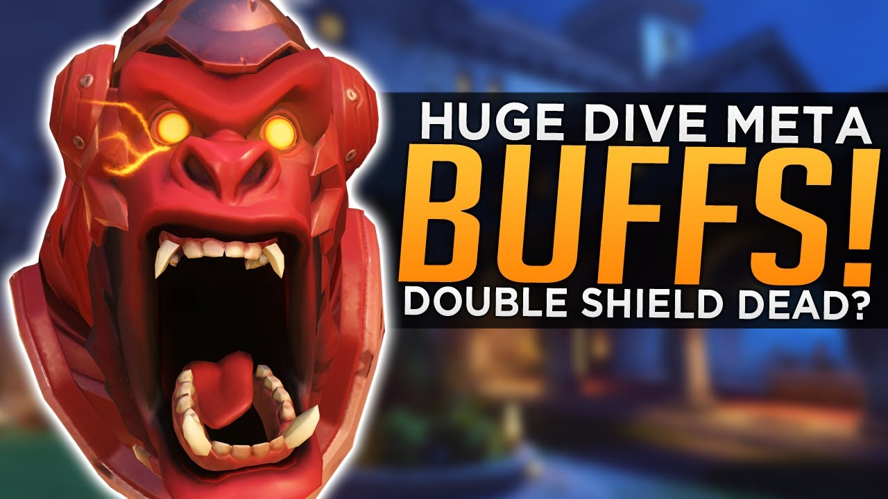 Overwatch: HUGE Dive Meta BUFFS! - Is Double Barrier DEAD? thumbnail