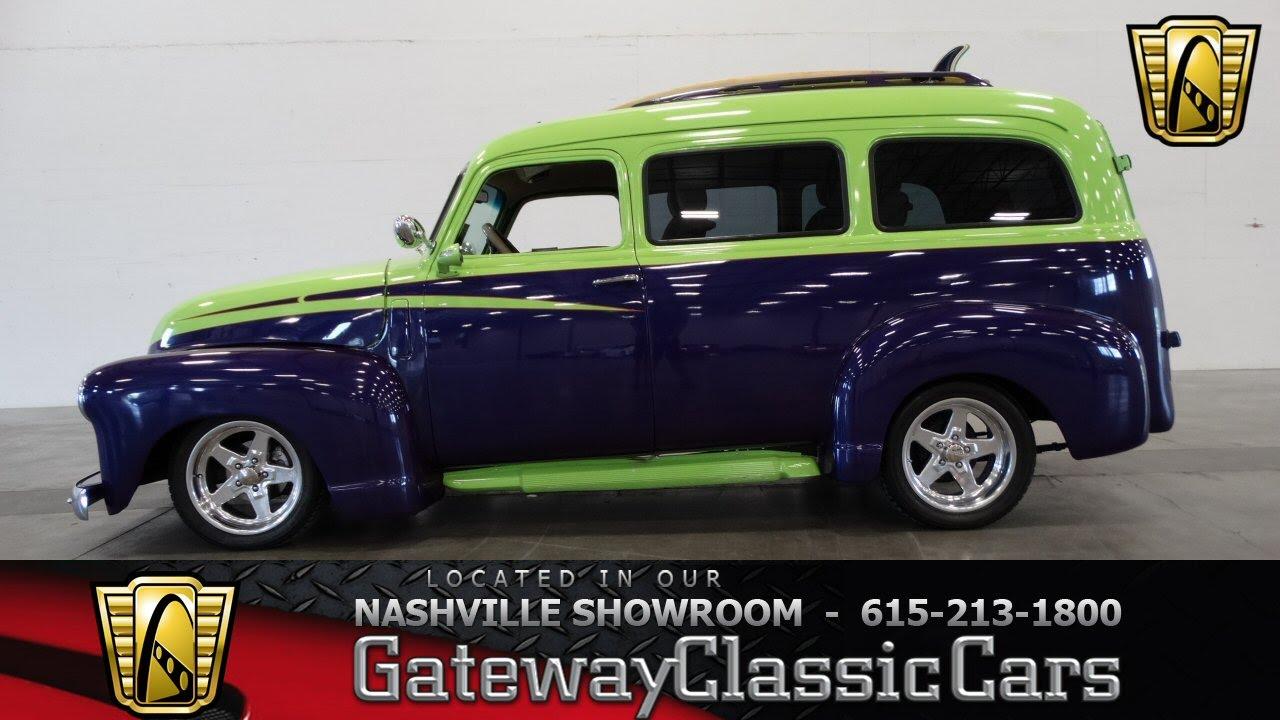 hight resolution of 1950 chevrolet suburban 3100 gateway classic cars of nashville 11 youtube