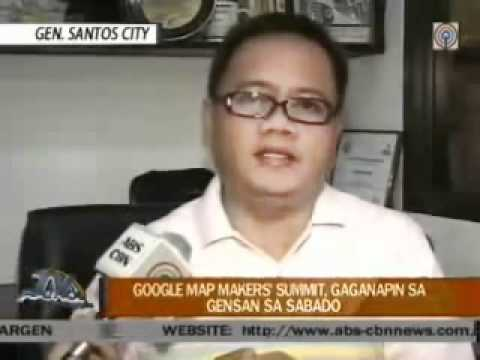 Google Map Maker Mindanao Sumit TV Patrol