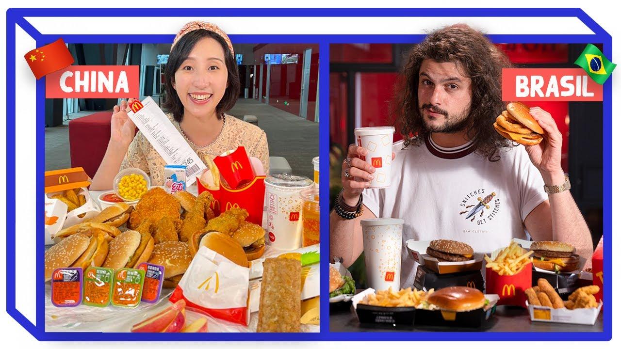 Download MCDONALD'S CHINÊS E BRASILEIRO   Comparando Fast Food   Mohamad Hindi feat Luana em Pequim