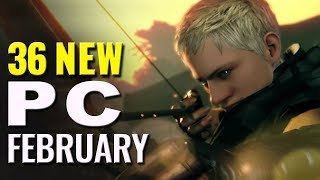 PC Playscore Scoop February 2018 |  36 Best New PC games reviewed