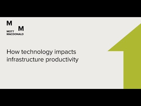 Open talk - How technology impacts infrastructure productivity